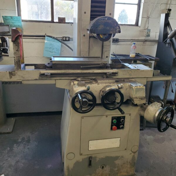 Manual Surface Grinder - Zedco Maybe
